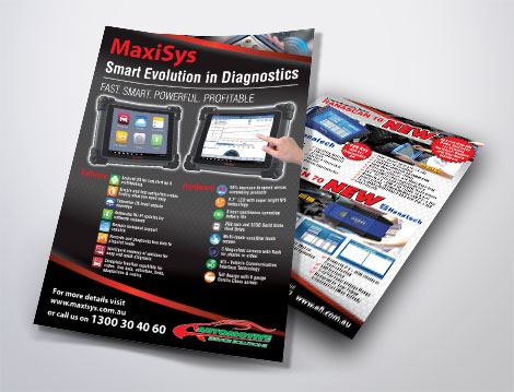 Automotive Service Solutions Flyers designed by GGA Graphics