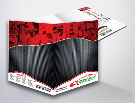 Presentation Folders designed by GGA Graphics
