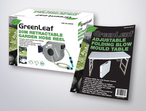Greenleaf Packaging designed by GGA Graphics