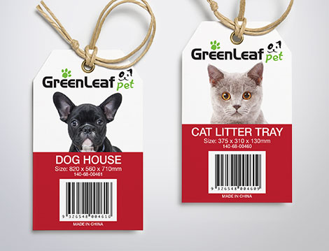 Greenleaf Pet Packaging designed by GGA Graphics