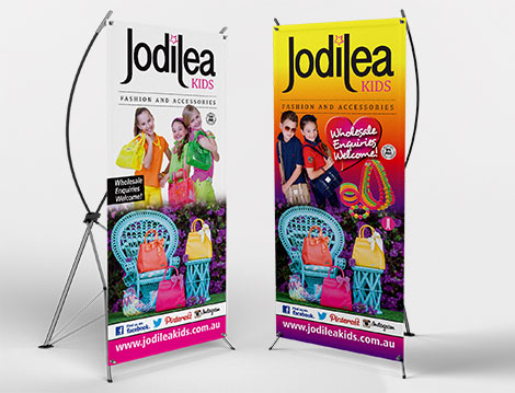 Jodilea Banners designed by GGA Graphics