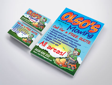 Oslo's Mowing branding designed by GGA Graphics