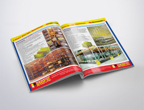 Schaefer Store catalogue designed by GGA Graphics