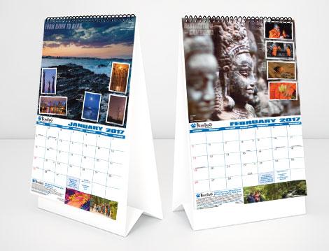 Calendars designed by GGA Graphics