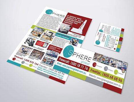 Sphere Global branding designed by GGA Graphics