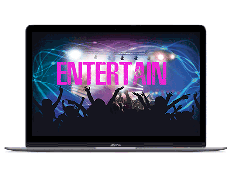 Entertain to get more likes on Facebook