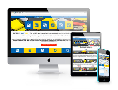 Burdekin Handyman new website designed by GGA Graphics