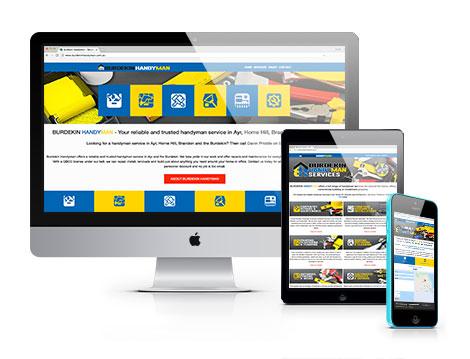 Burdekin Handyman new website designed by GGA Graphics