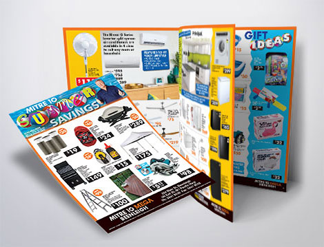 Mega Mitre 10 catalogue designed by GGA Graphics